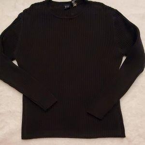Gap sweater Women's  black CREW neck size large